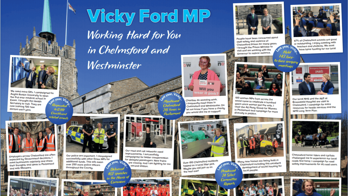 Vicky Ford MP | Member of Parliament for Chelmsford