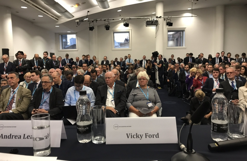 Standing room only for a Brexit discussion
